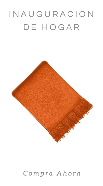 Gifts_Orange Throw