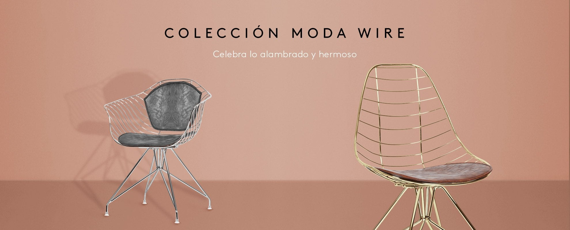 Moda Wire Chair