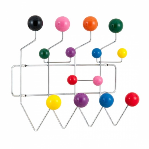 Scandi Designs Perchero Hang It All - Cromado con Bolas Multicolor