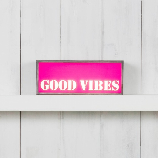 Cult Living Inserción para Lightbox - Good Vibes