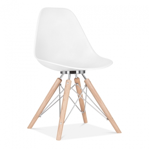 Cult Design Silla de comedor Moda CD3 - Blanco