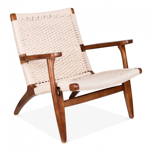 Danish Designs Silla CH25 - Marrón / Asiento en Natural