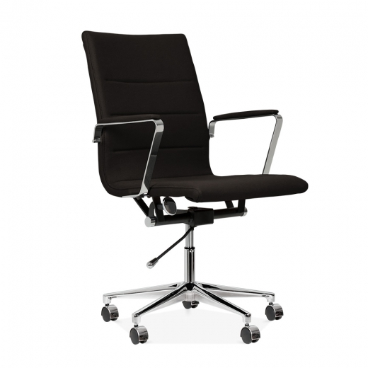 Cult Living Ellington Office Chair in Cashmere - Black