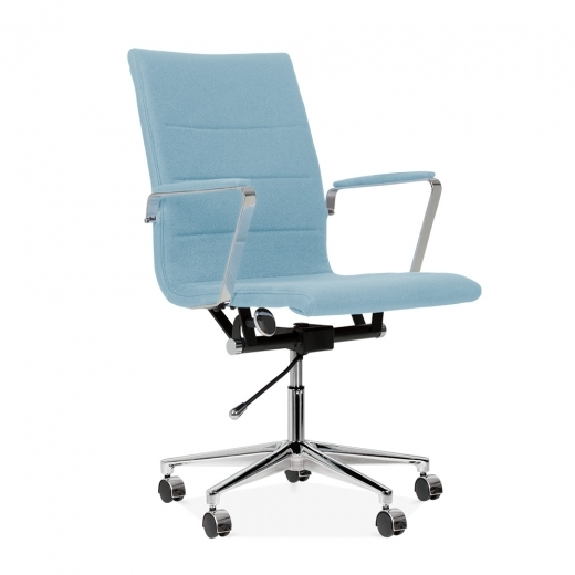 Cult Living Ellington Office Chair in Cashmere - Pastel Blue