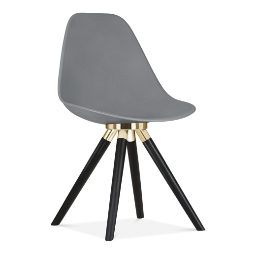 Cult Furniture ES Silla Moda CD2 de Cult Design en Gris | Sillas de comedor