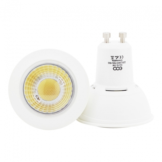 ECO Lights Bombilla LED COB 7W - Regulable GU10