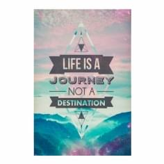 Cult Living Poster con mensaje - Journey