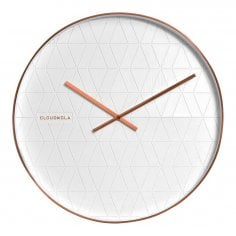 Reloj de Pared Grande Cloud en Cobre