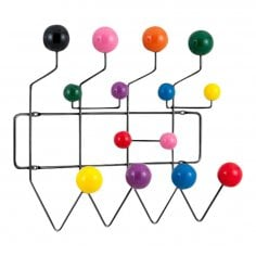 Perchero 'Hang It All (Cuélgalo todo)' con bolas Multicolores, Negro