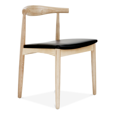 Silla Estilo Elbow - Fresno Natural