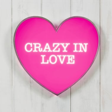 Lightbox Corazón - Crazy In Love