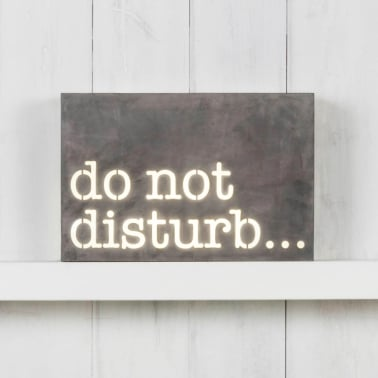 Lightbox - Do Not Disturb