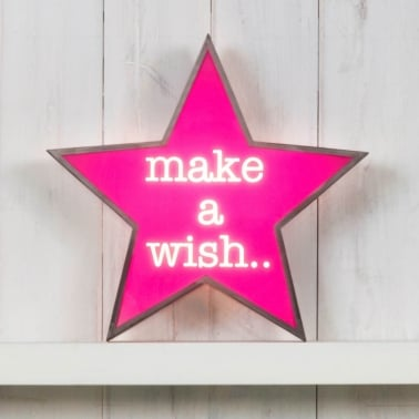 Lightbox Estrella - Make A Wish