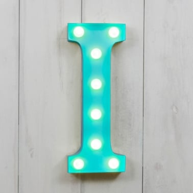 Mini Letras Luminosas LED 28cm I - Elección de Color