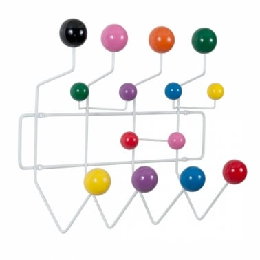 Hang It All - Blanco con bolas multicolor