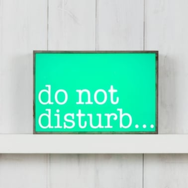 Lightbox rectangular - Do Not Disturb