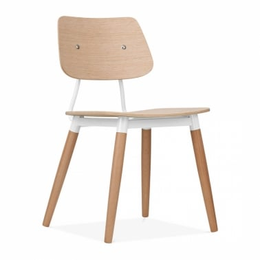 Silla Oslo Natural - Blanco