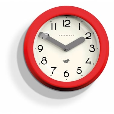 Reloj de pared Pantry - Rojo