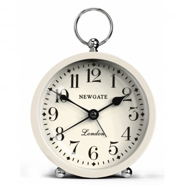 Mini reloj con alarma Gents - Blanco