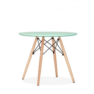 DSW Peppermint Kids Round Dining Table - Diameter 60cm