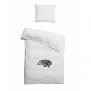 Shnurk Ollie The Cat, Single Duvet Set