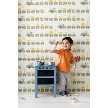 Papel de Pared Little Train