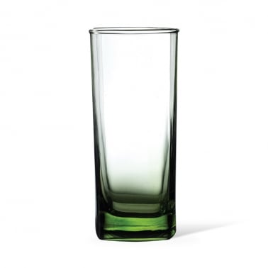 Vaso largo Flow verde ácido - 35cl