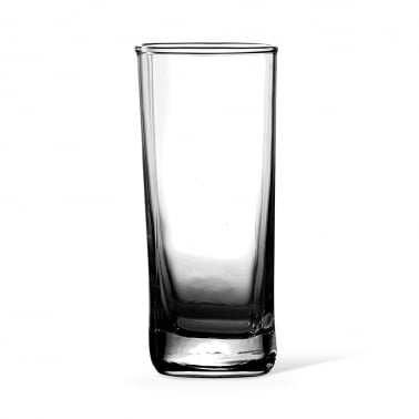 Vaso Largo Flow Gris Ahumado - 35cl