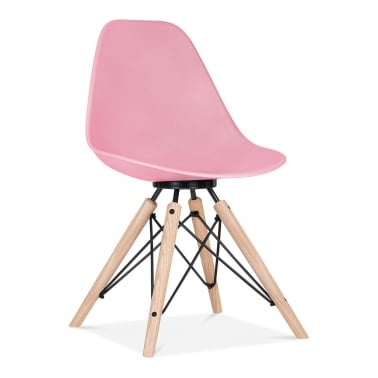 Silla de comedor Moda CD3 - Rosa chicle