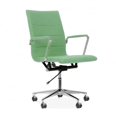Ellington Office Chair in Cashmere - Soft Green
