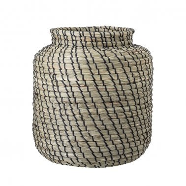 Seagrass Woven Storage Basket, Natural
